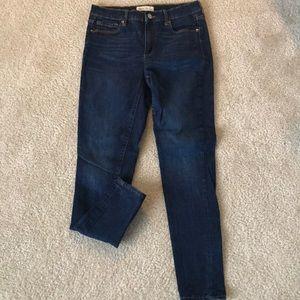 Gap True Skinny Dark Wash Jeans